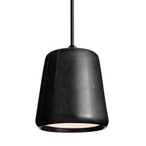 New Works Material Pendant E14 LED 4W (11W) Black Marble