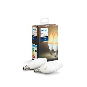Philips Hue White Ambiance E14 duopak