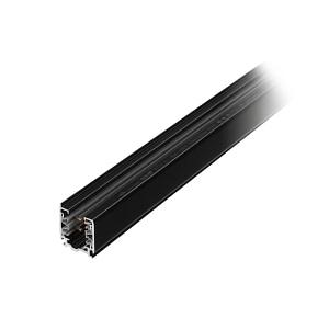 Nordic Aluminium 3-fase spanningsrails opbouw XTS Zwart