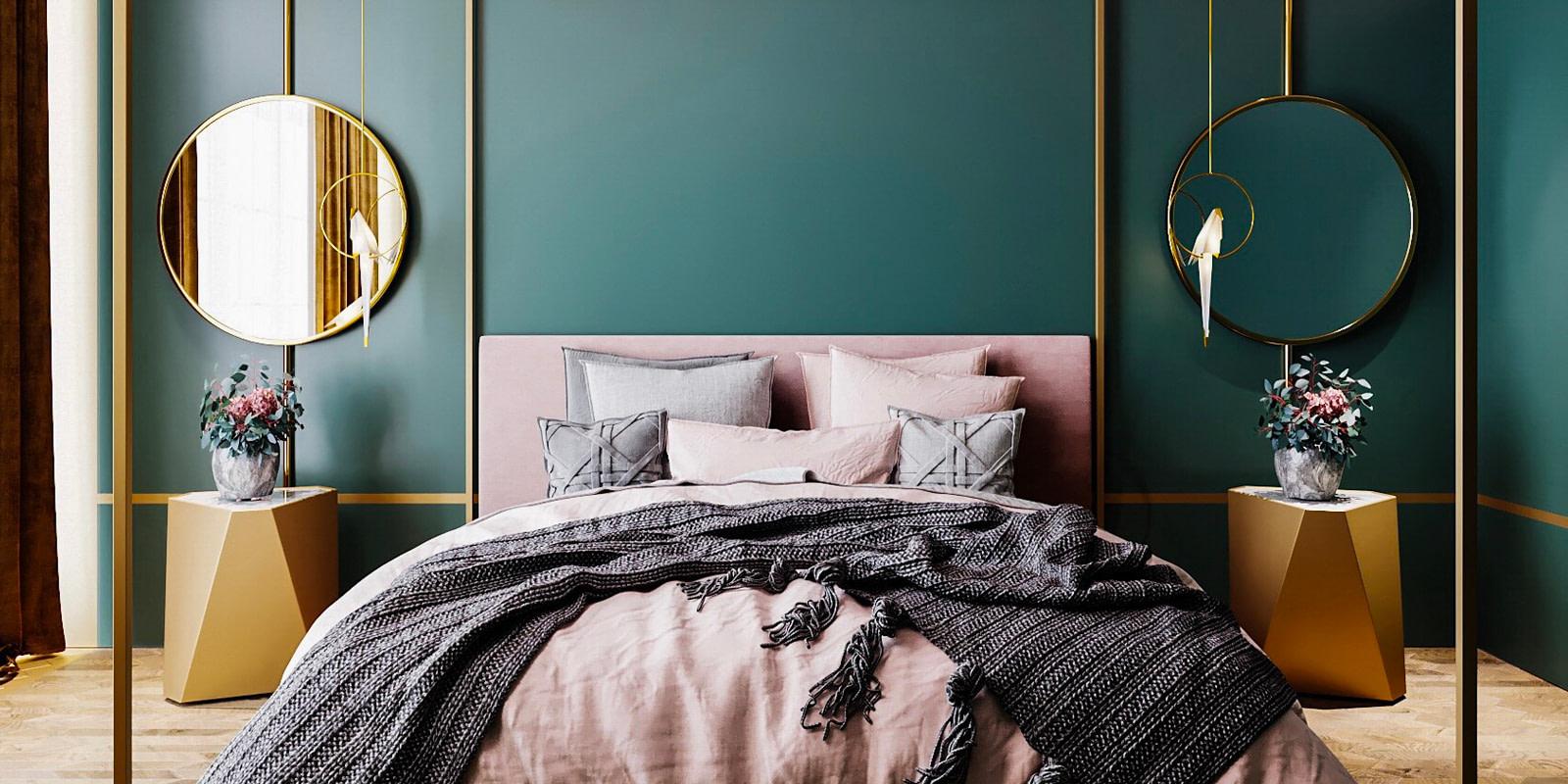 Woontrend 2019: Haal metallic kleuren in huis