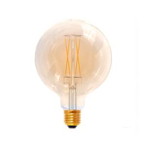 Segula Globe 125 golden E27 6W dimbaar
