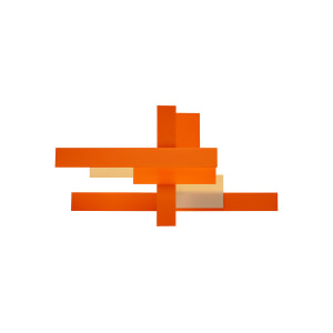 Foscarini Pa Fields Oranje